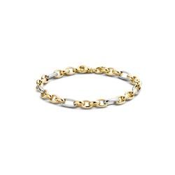 Blush bi-colour gouden armband - 2170BGO