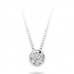 Blush Diamonds 0,03crt aan witgouden collier - 3600WDI
