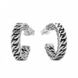 BtB Earring Chain zilver