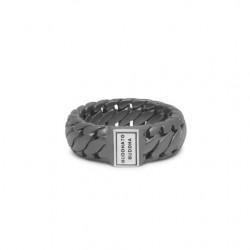BtB Ben Small ring Black Rhodium Silver