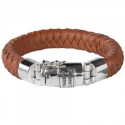 BtB armband Ben Leer Cognac mt D