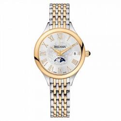 Balmain bicolor horloge met maanfase
