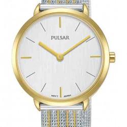 Pulsar Bi-Color Quartz Herenhorloge