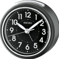 Seiko Quartz Wekker in Zwart