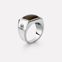 R&R Square Tiger Ring mt66  - RR-RG006-S